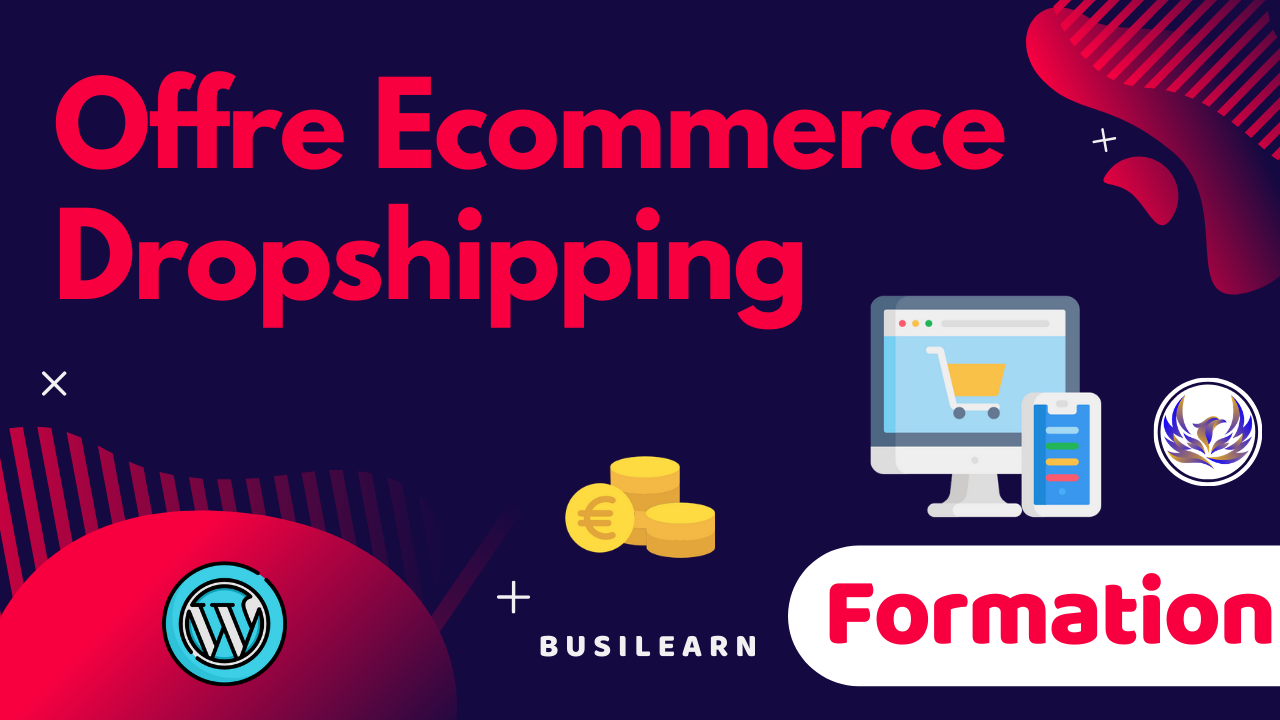 offre ecommerce dropshipping à 59€/mois