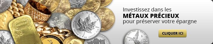 Investissez dans les métaux précieux pour préserver votre épargne