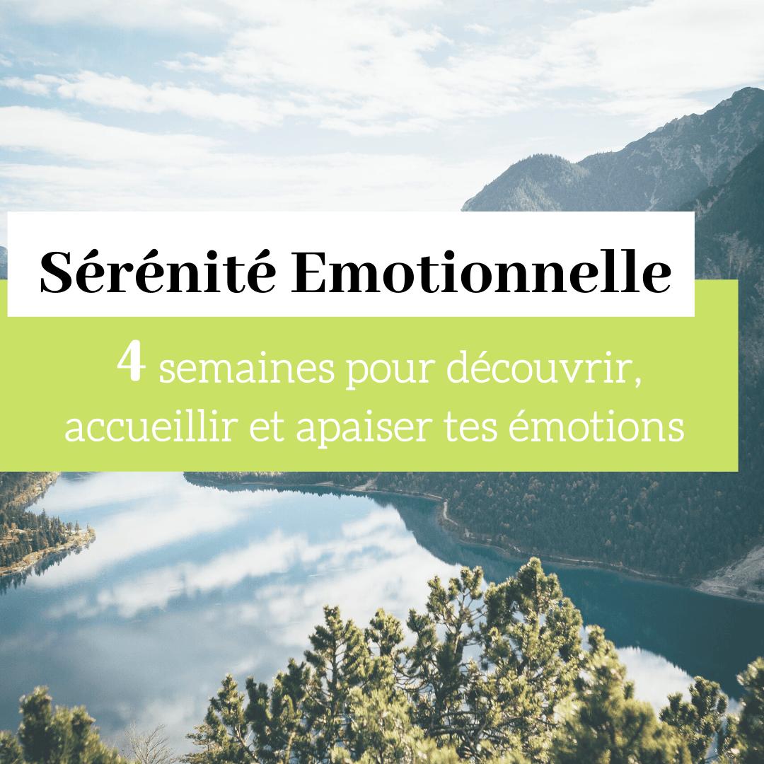 Programme Sérénité Emotionnelle - Spéciale Hypersensibles