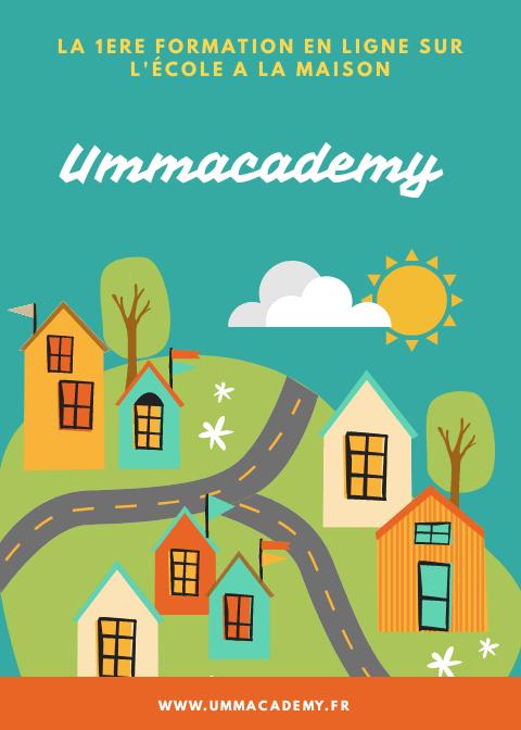 Ummacademy, Formation école à la maison