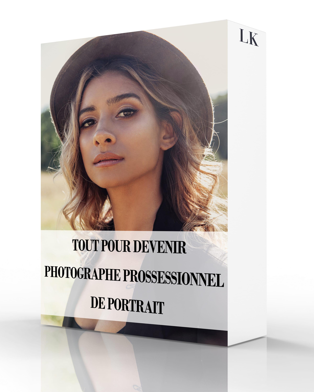 Tout Pour Devenir Photographe Professionnel de Portrait
