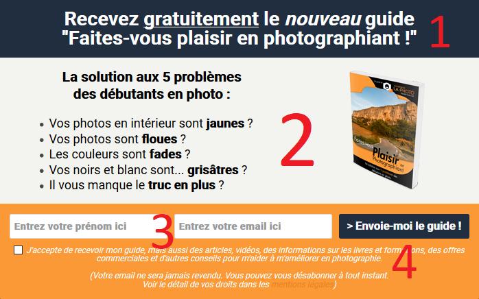 Page de capture du site apprendre-la-photo.fr