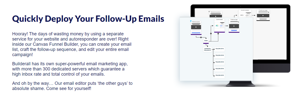 Builderall email's workflow