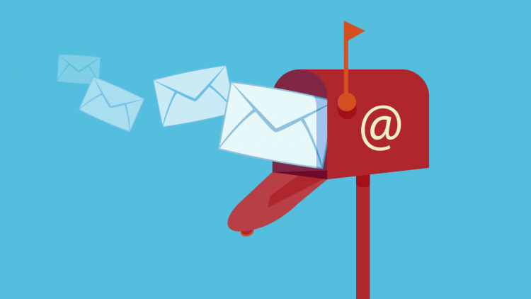 collection des emails