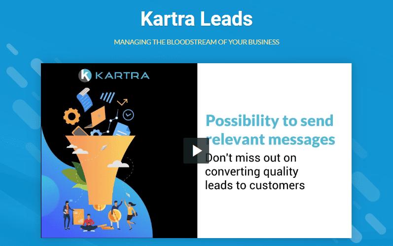 kartra leads
