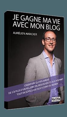 Livre gratuit ''Je gagne ma vie avec mon blog''