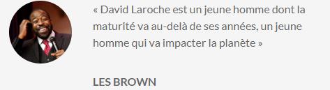 Témoignage de Les Brown