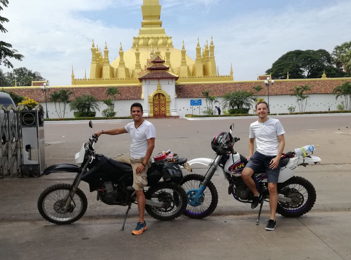 balade sur moto