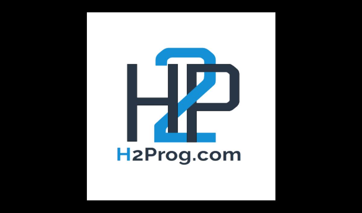 Le logo de H2PROG