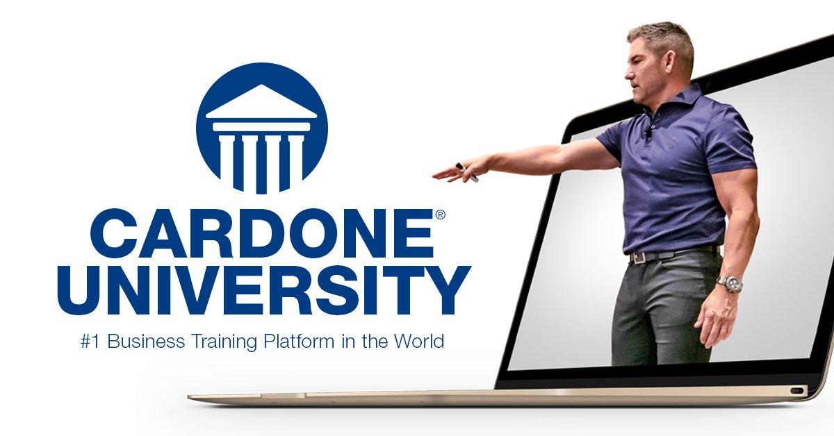 Grant Cardone University logo