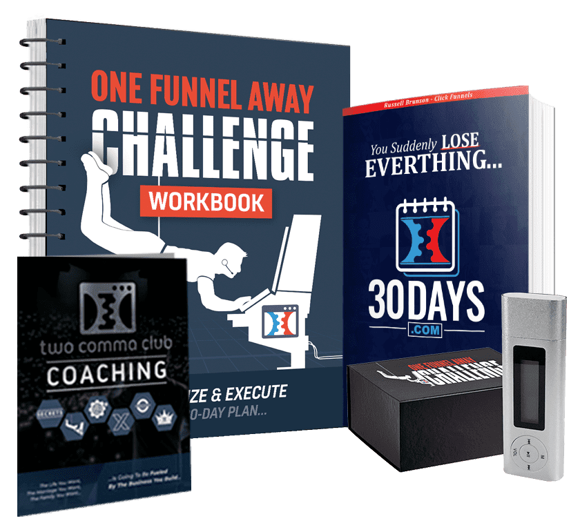 the One Funnel Away Challenge kit