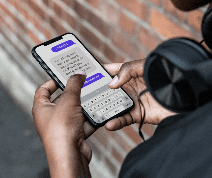 Opt-in text campaigns