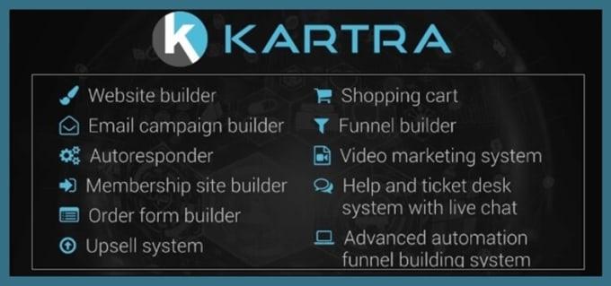 Kartra offers plenty of features