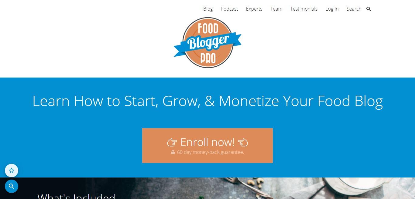 Blogueur alimentaire Pro