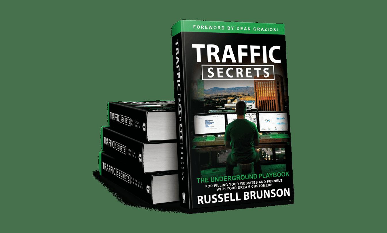 """la couverture du livre ''Traffic Secrets"""""""
