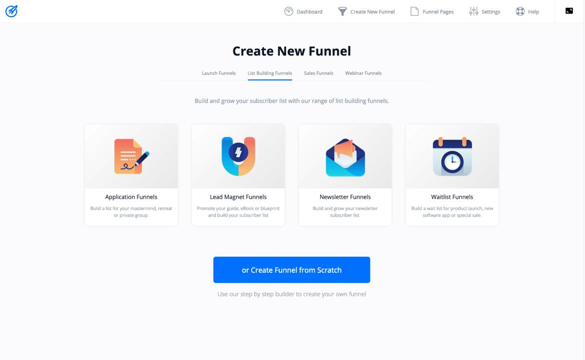 funnel desktop
