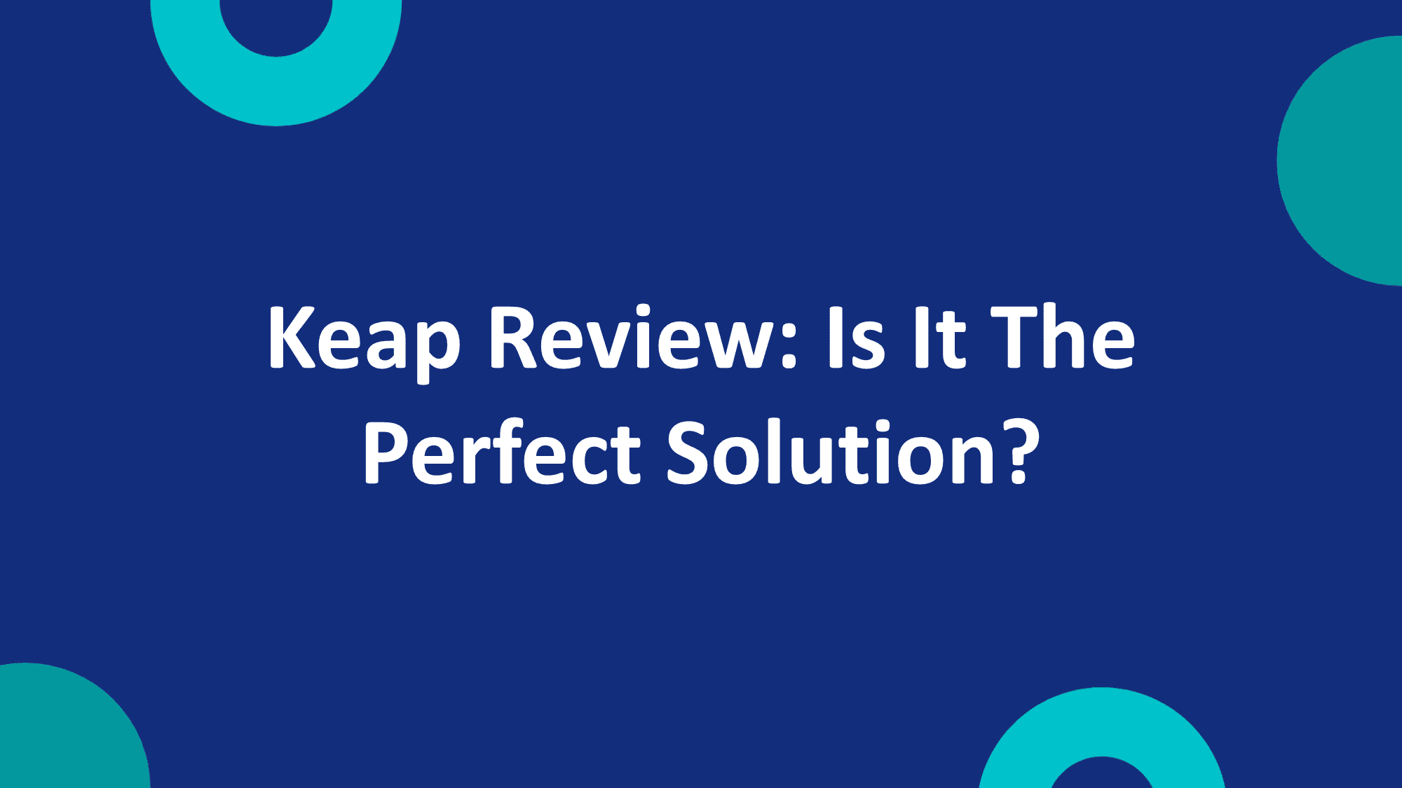 Keap Review