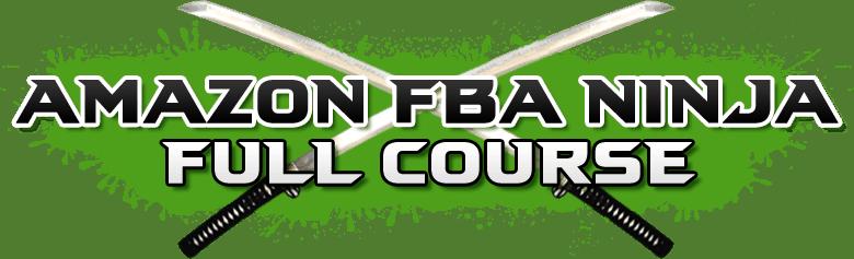 Amazon FBA Ninja course