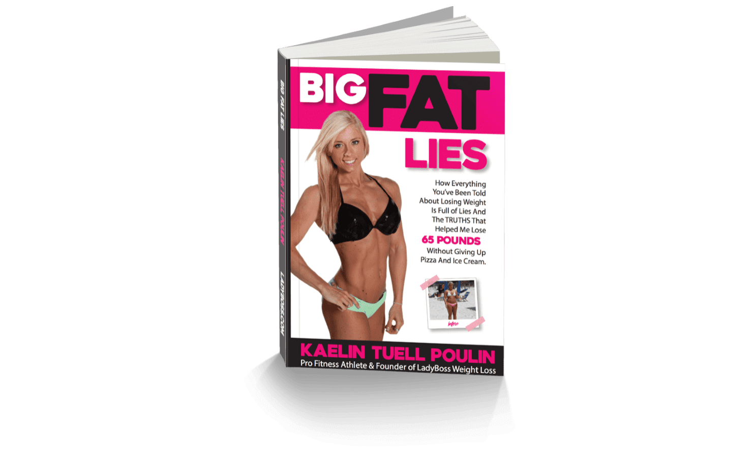 """The cover of the book """"Big Fat Lies"""""""