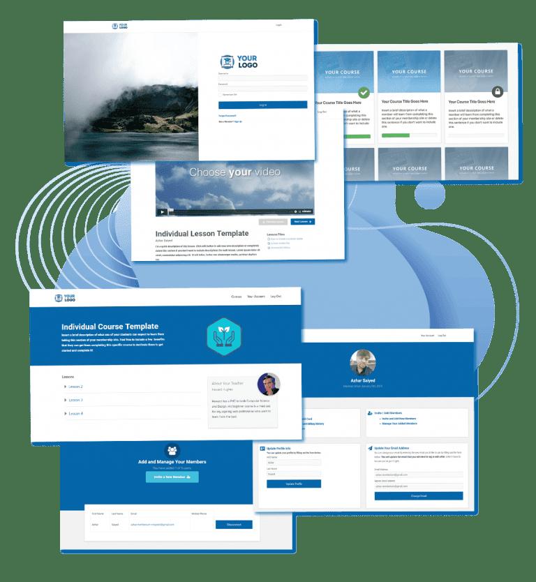 membership site templates