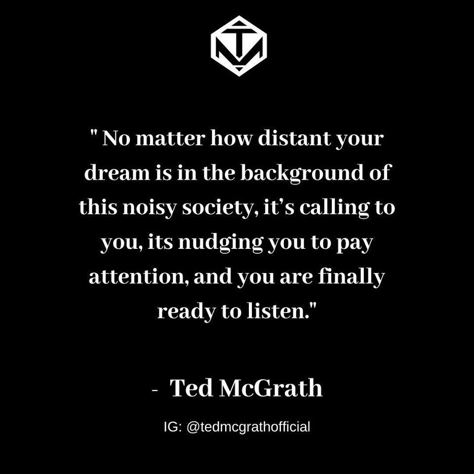 Ted McGrath quote