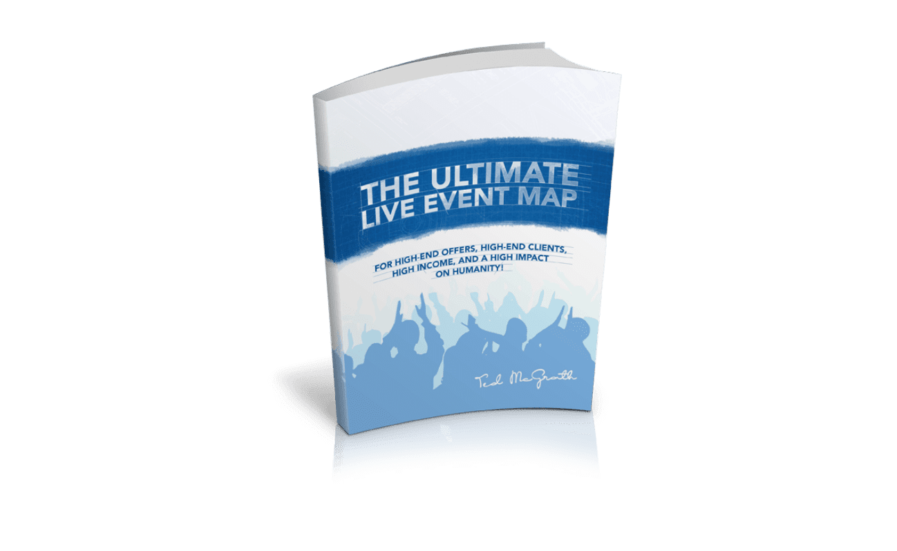 """The cover of the book """"Ultimate Live Event Map"""""""