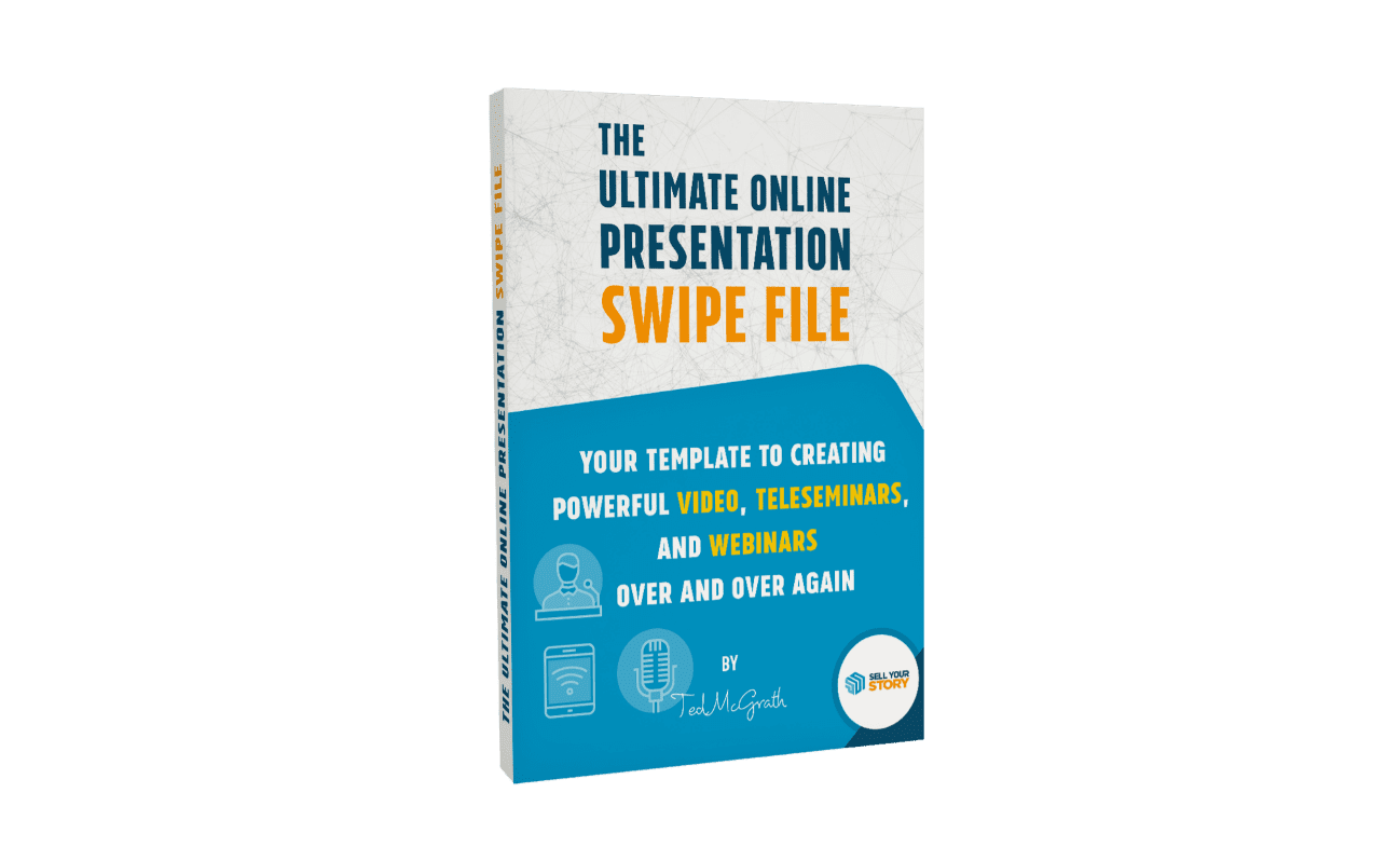 """The cover of the book """"The Ultimate Online Presentations Swipe File"""""""