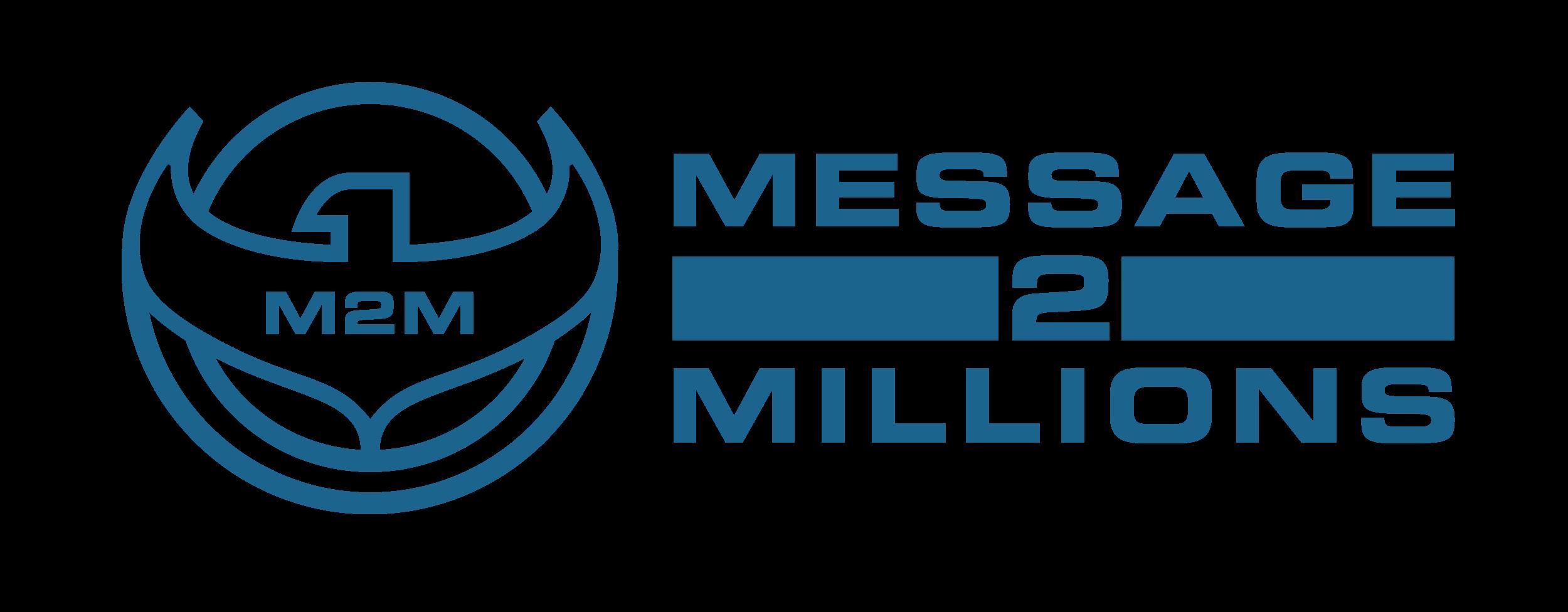 Message 2 Millions logo