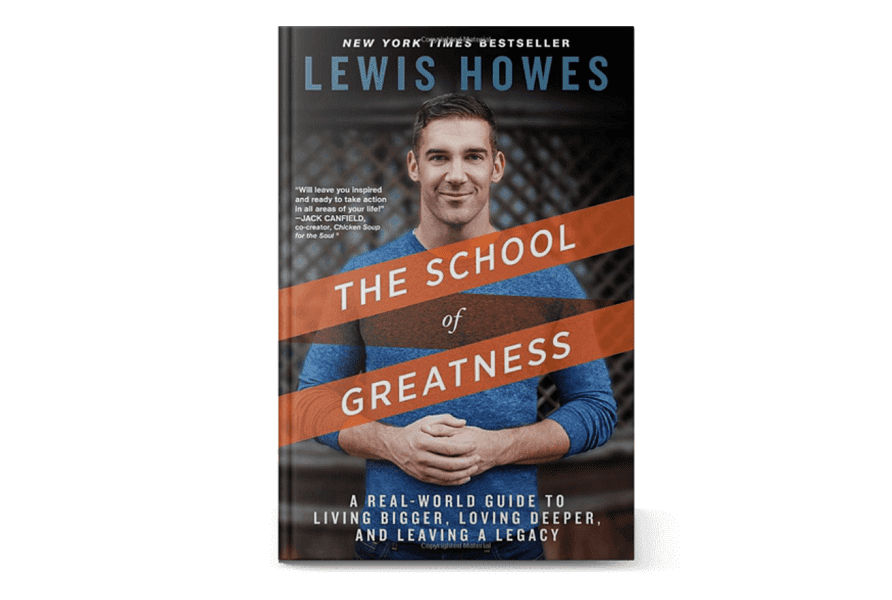 """The cover of the book """"The School of Greatness"""""""