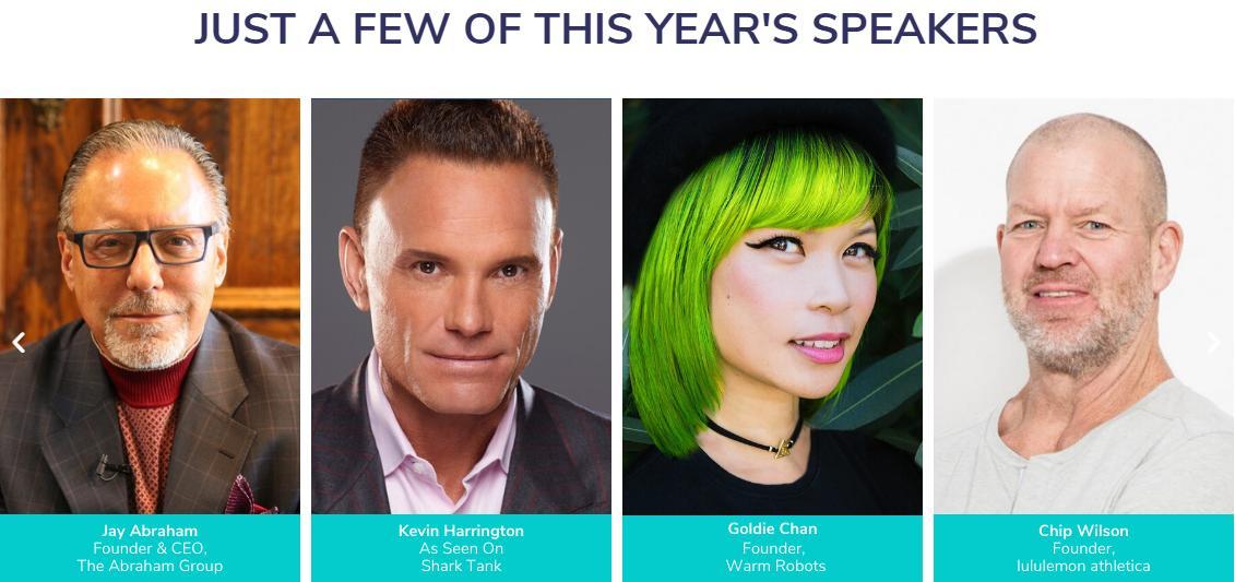 T&C 2020 speakers