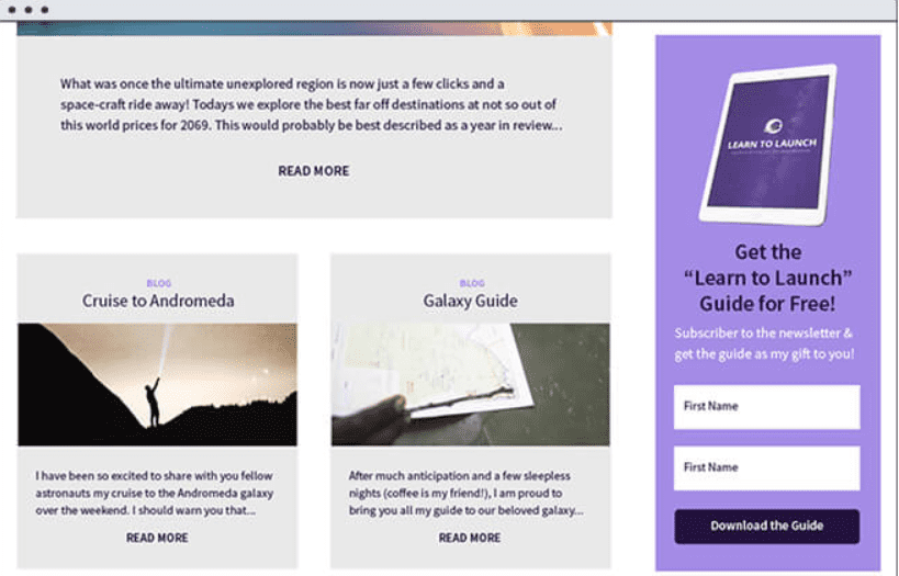 un formulaire à insérer sur un site web