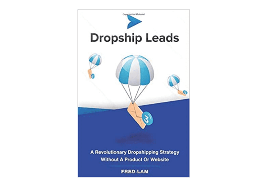 """The cover of the book """"Dropship Leads"""""""