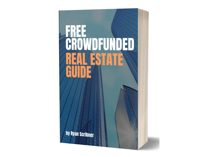 "The cover of the book ""Free crowdfunded real estate guide"""