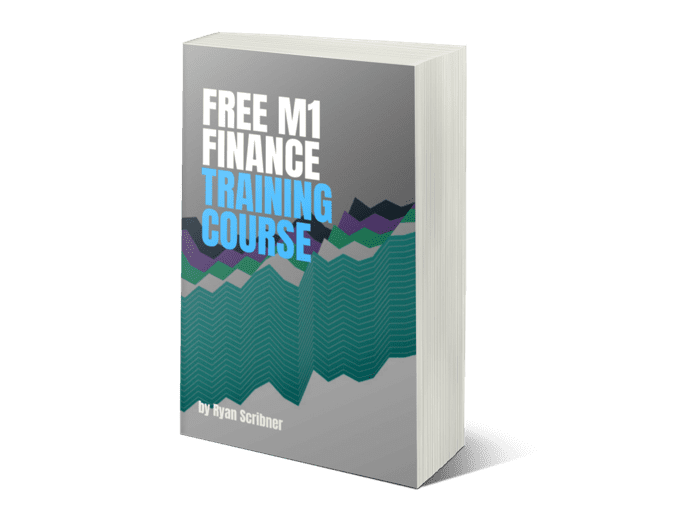 "The cover of the book ""Free M1 finance training course"""