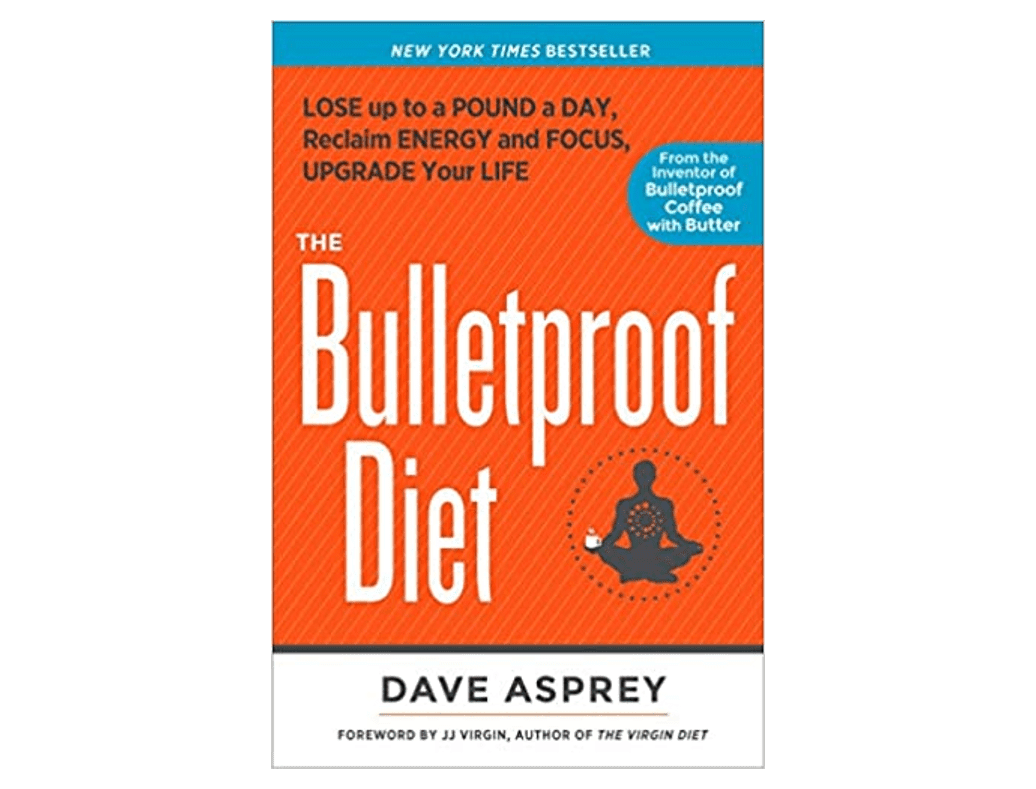 The cover of the book: The Bulletproof Diet