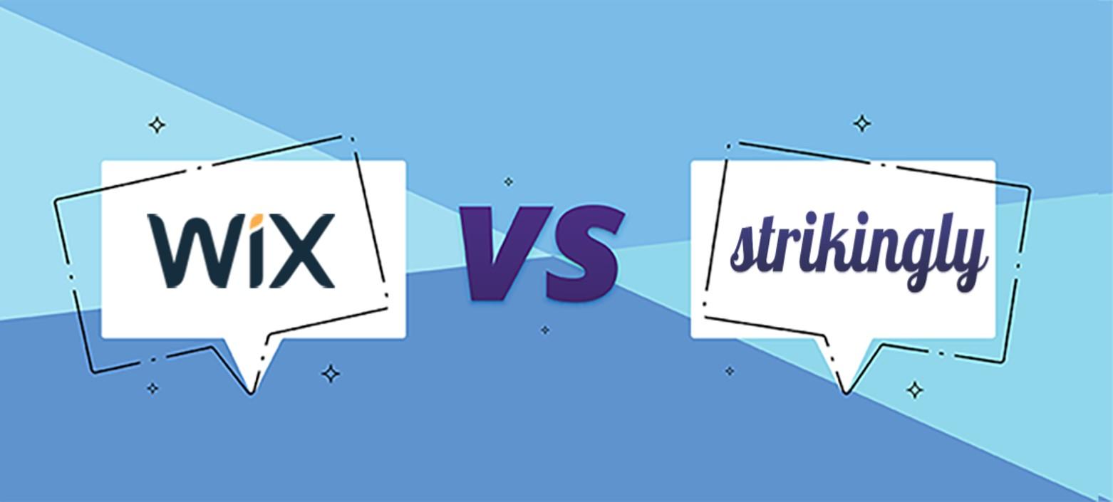 Wix vs Strikingly