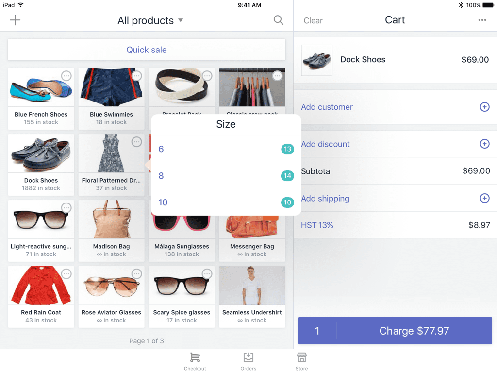 add products to Shopify