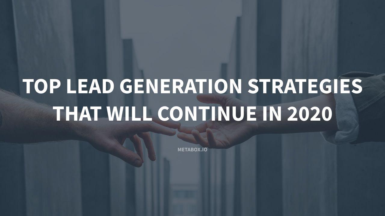 Principales stratégies de génération de leads