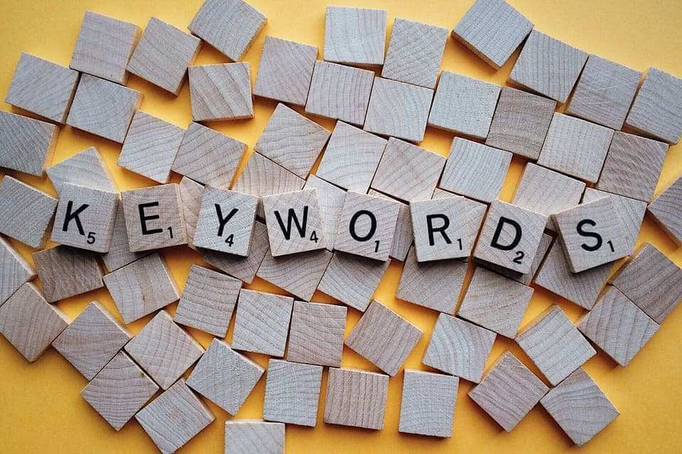 keywords letters