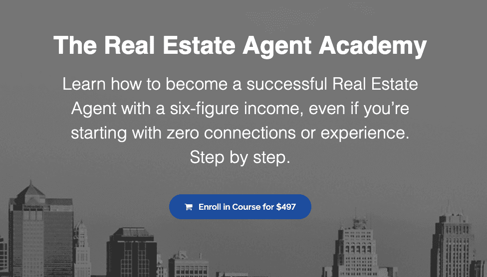 The real estate agent academy