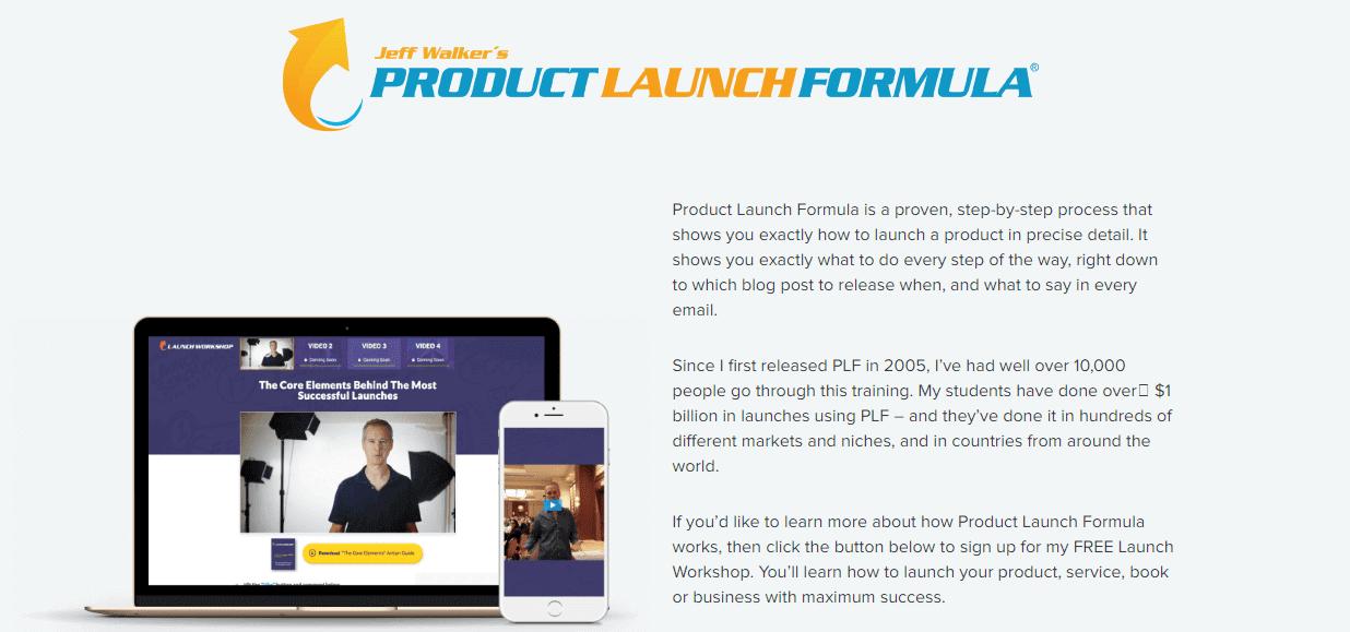 Product Launch Formula