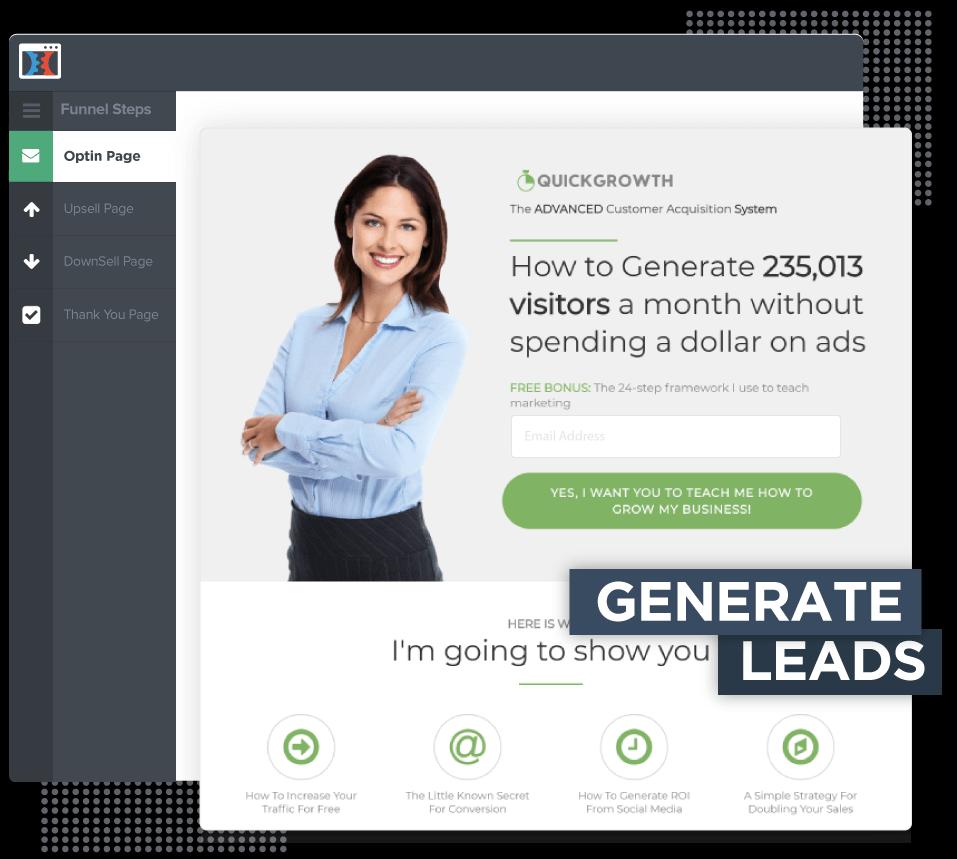 Generate leades