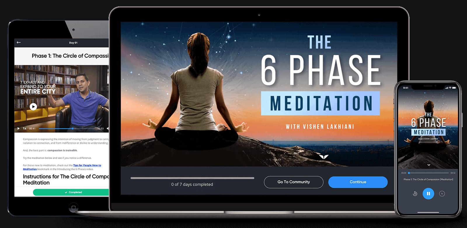6 phase meditation