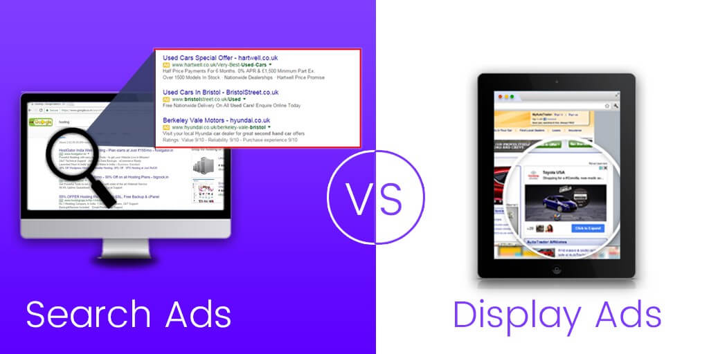 Search ads or Display ads