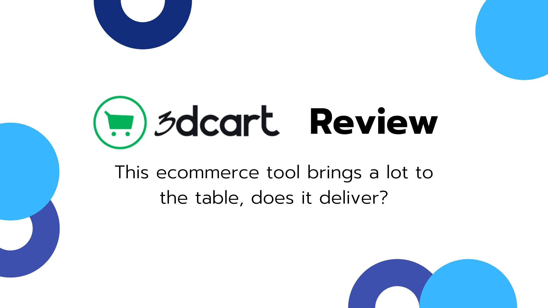 3dcart Review