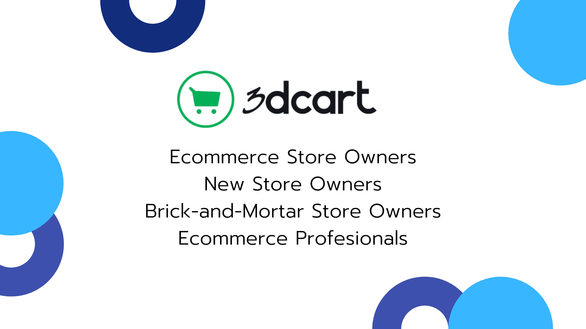 Who is 3dcart for