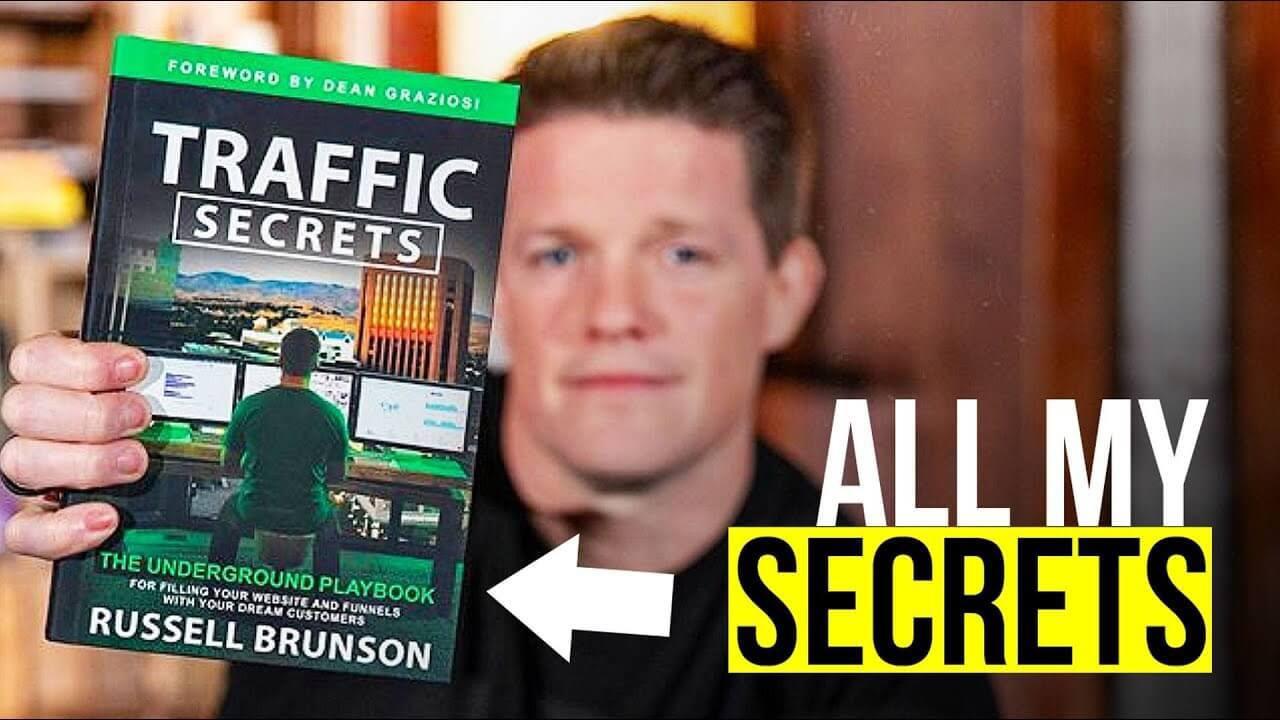 The Traffic Secrets book
