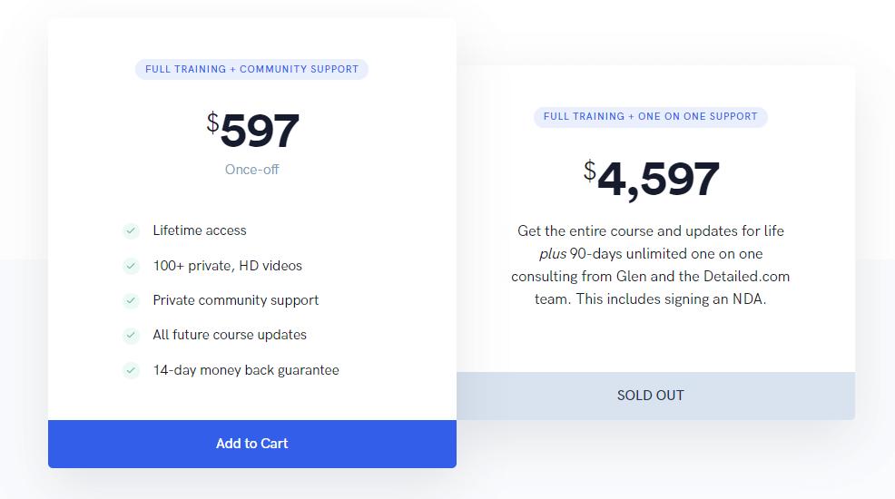 SEO Blueprint pricing