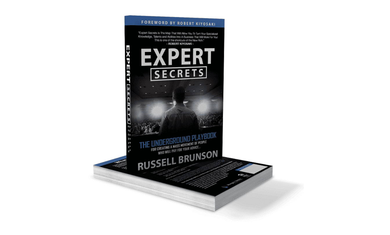 """the cover of the book """"Expert Secrets"""""""