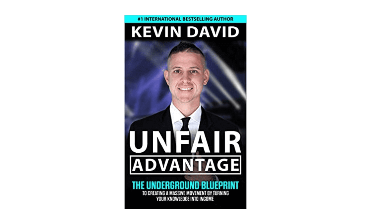 """the cover of the book """"Unfair Advantage."""""""
